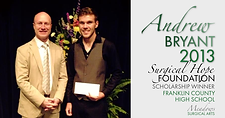 Andrew Bryant | 2013 Franklin County Scholarship Winner | Meadows Surgical Arts | Cosmetic Surgery Buford