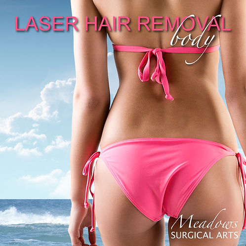 Laser Hair Removal (Body)