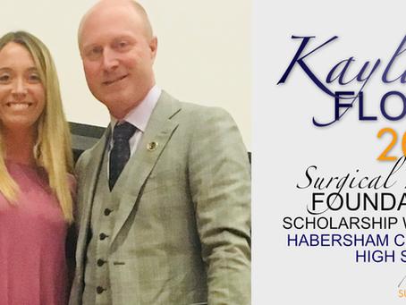 2018 Surgical Hope Foundation Scholarship Winner (Habersham) - Kayla Flood