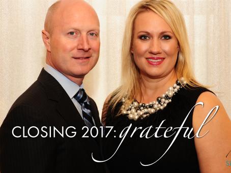 Closing 2017: Grateful