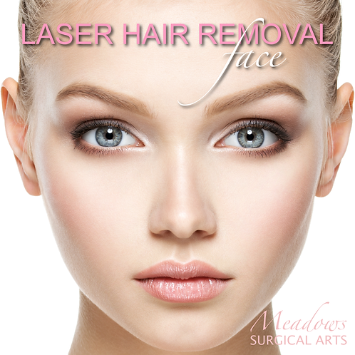 Laser Hair Removal (Face)