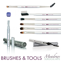 blinc, blinc brushes, blinc micro trimmer, blinc heated lash curler, blinc brush, blinc pencil sharpener, blinc eye pencil sharpener, blinc duo brush, blinc contour shadow brush, blinc all over shadow brush, blinc primer brush, Meadows Surgical Arts