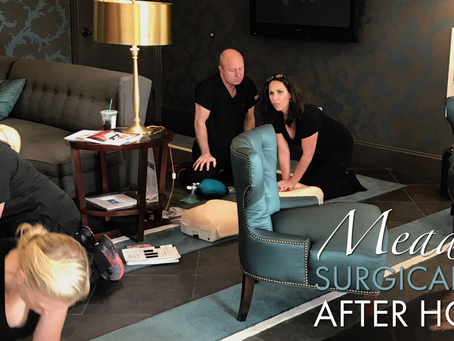 After Hours at Meadows Surgical Arts