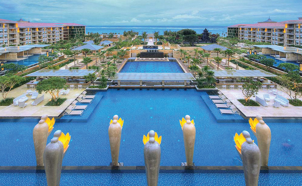 Courtyard at The Mulia Resort & Villas