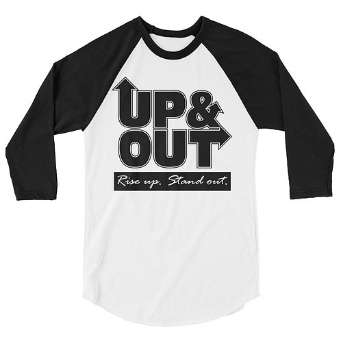 Up & Out | Rise Up Stand Out Raglan Shirt