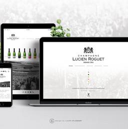 Site Champagne Lucien Roguet