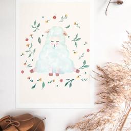 Illustrations Chambre bébé
