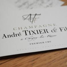 Plaquette - Champagne André Tixier & Fils