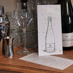 Carte de Voeux - Champagne Roguet
