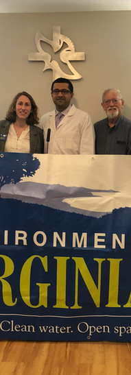 Krupal Shah, MD, MPP at the Environment Virginia Trouble in the Air Report press release on 1/28/2020
