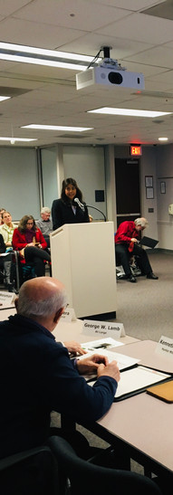 Neelu Tummala, MD provided testimony on January 8, 2020, during an annual public hearing held by EQAC, an environmental advisory board to the Fairfax County Board of Supervisors. Representatives from VCCA were present to discuss the health effects of climate change that are already being experienced by patients in Fairfax County.  This testimony on the health impacts of climate change is used in the annual report to the Board of Supervisors, highlighting the importance of addressing and prioritizing climate change.