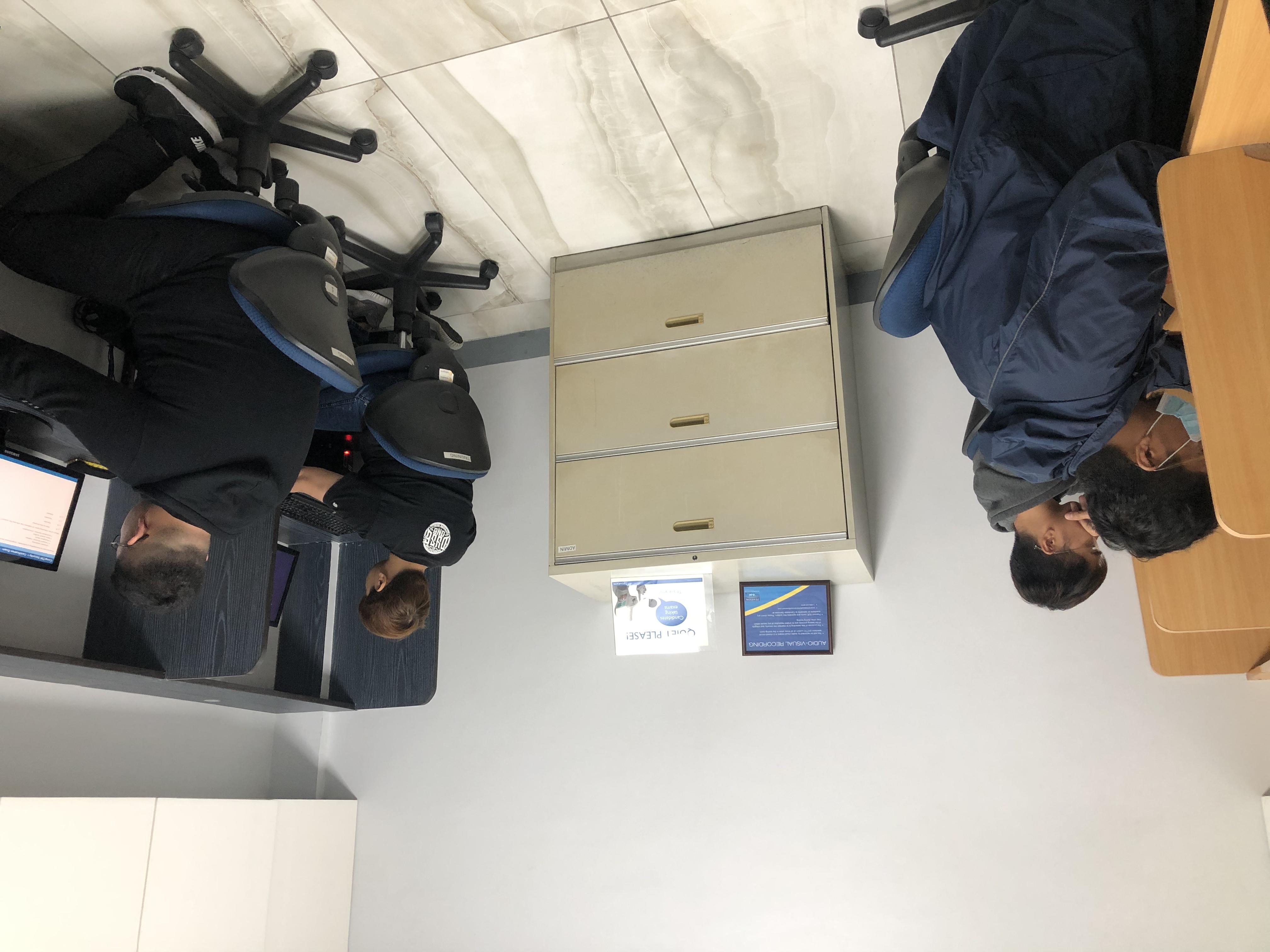 Certification room
