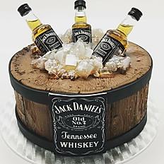 Liquor Cask Cake
