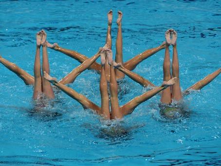 Συγχρονισμένη κολύμβηση , κατηγορία Δ. Τμήμα Εύας Γούμενου