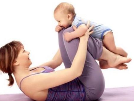 Γυμναστική για Μαμάδες ( και μπαμπάδες ) μαζί με τα μωρά !