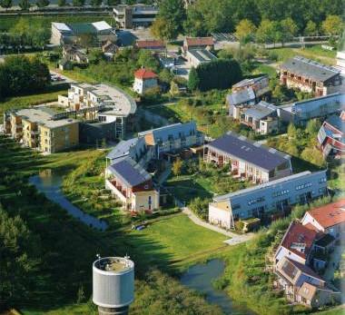 Visite de l'écoquartier Eva Lanxmeer - Culembourg, Pays-Bas