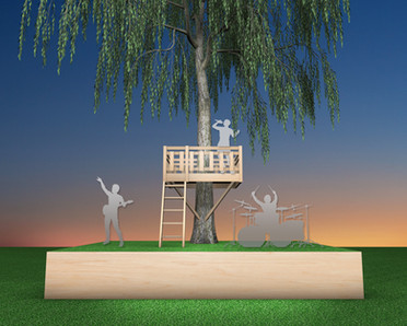 Tree House DJ Stage