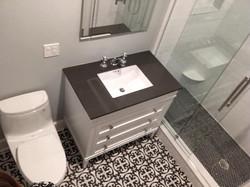 Beautifully renovated bathroom