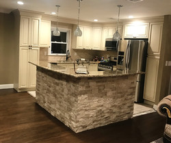 Marble counters and stone island