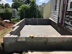 New foundation in progress