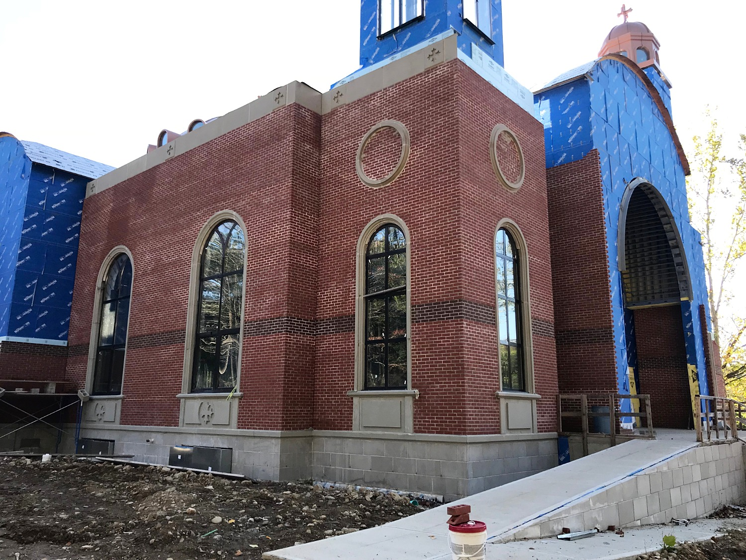 Progress on massive new church