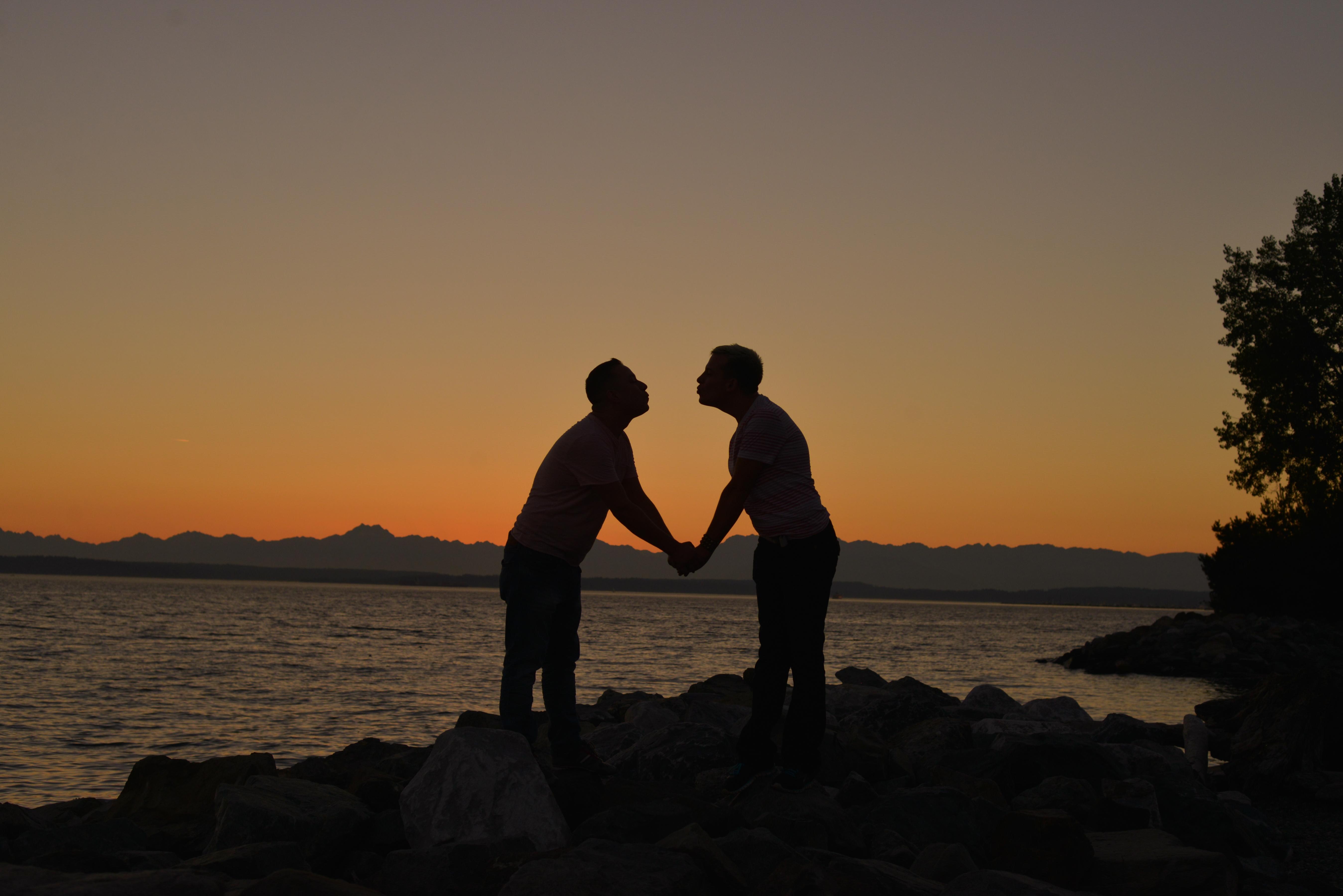Engagement Photo sunset