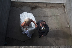 Wedding from above