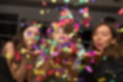 Blowing Confetti
