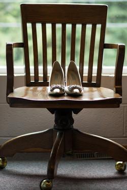 Wedding brides shoes