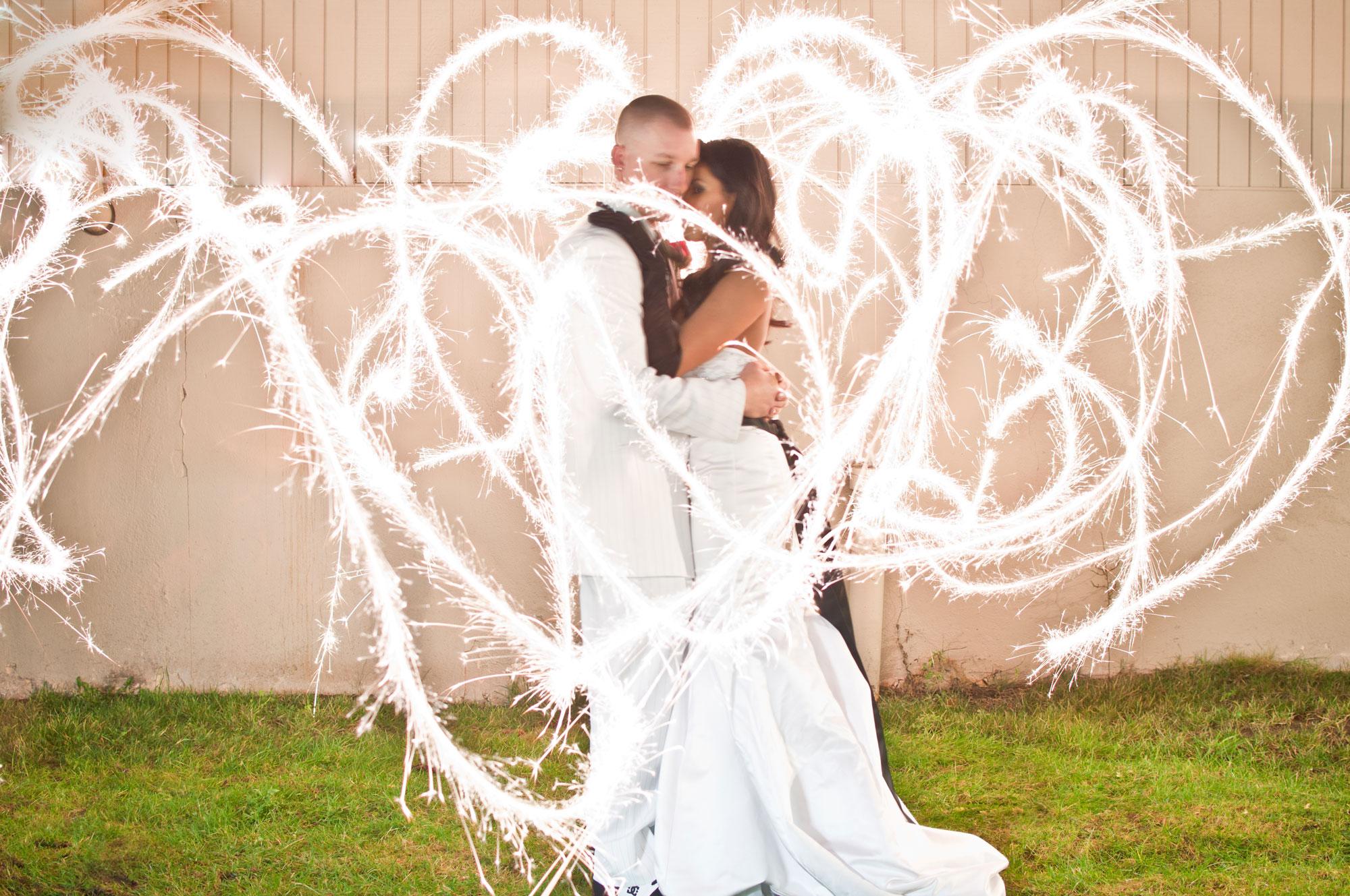 Wedding sparklers
