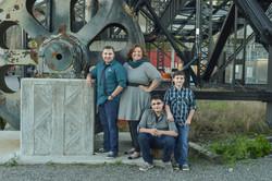 Family modern shoot