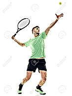70504130-one-caucasian-man-playing-tenni