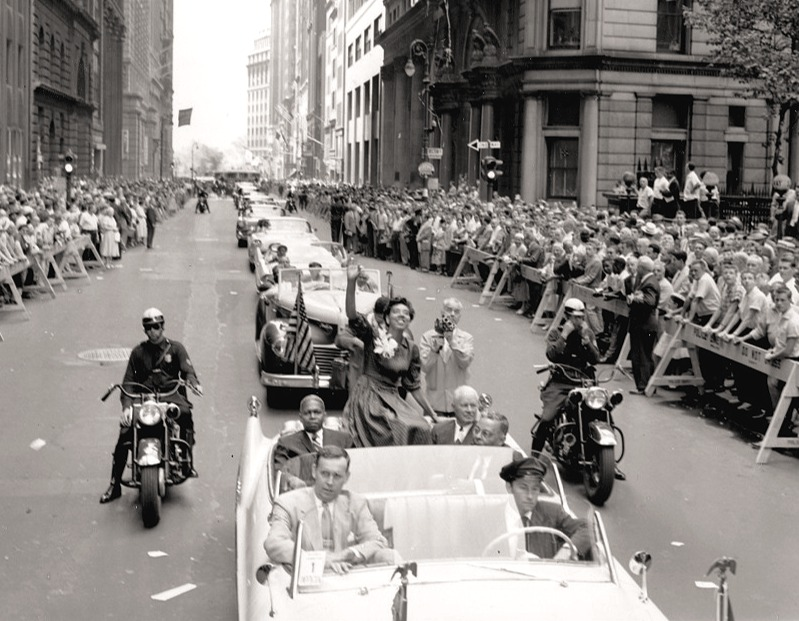 NYC celebrates Althea Gibson winning the US Open 1957