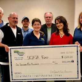 2019 - Eno CTA Donates $1500 to SKJAJA Charity