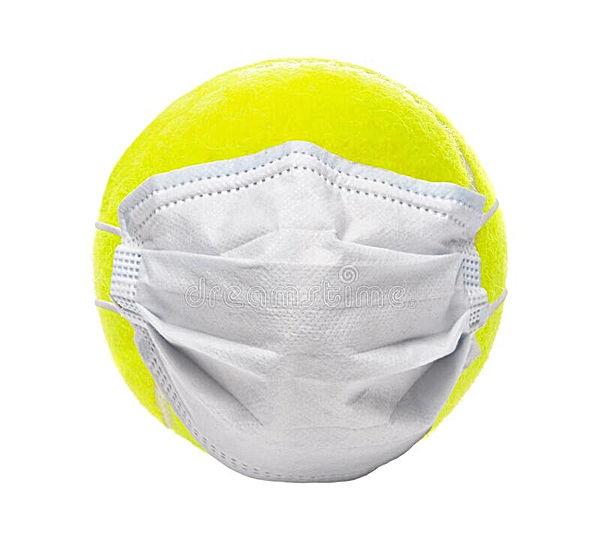 covid-sports-concept-tennis-ball-surgica
