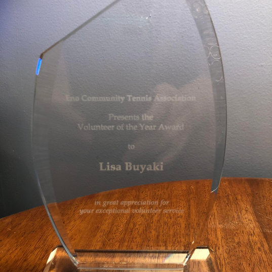 2020 Volunteer of the Year Award
