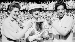 The Times of Israel Doubles partners smash prejudice as 1956 Wimbledon champs with Angela Buxton