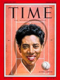 Althea Gibson Time Magazine Cover, August 26, 1957