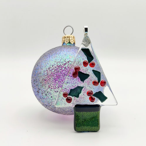 Holly Berry Christmas Tree, Decoration