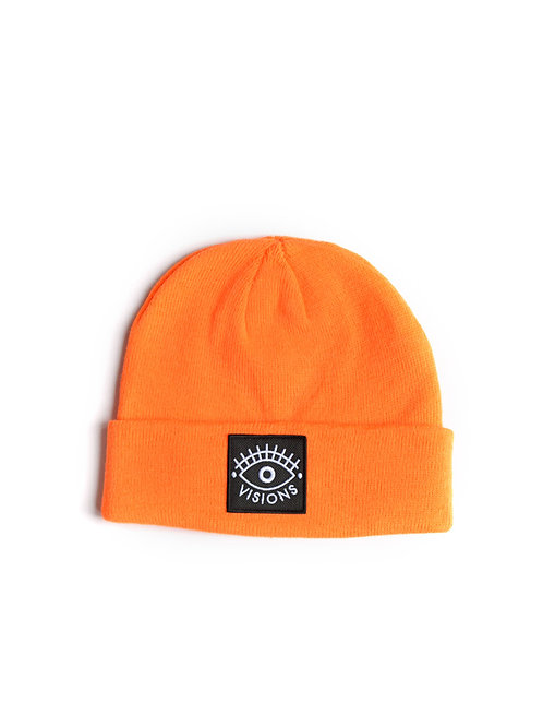Logo Beanie neon orange