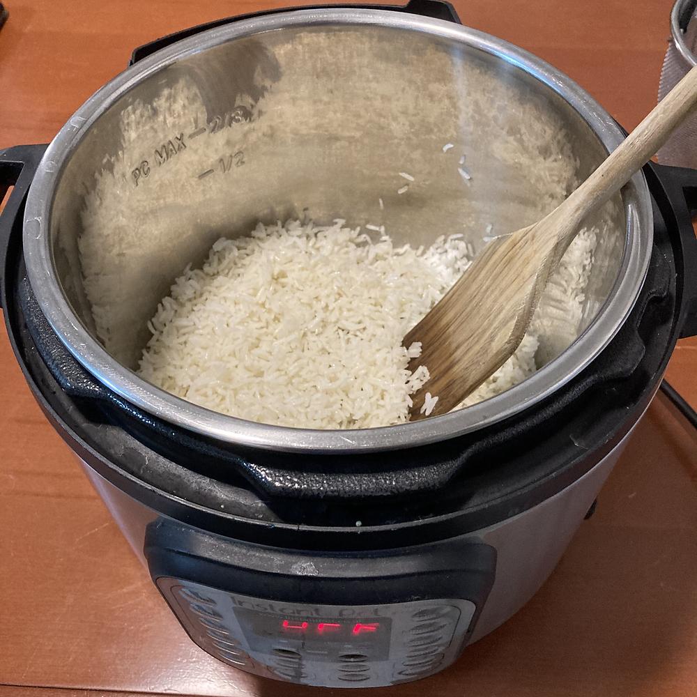 אורז לבן בסיר אינסטנט Instant Pot