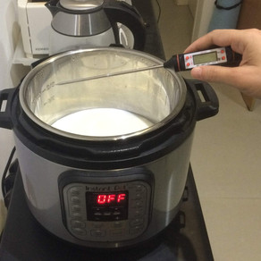 איך להכין יוגורט בסיר אינסטנט - Instant Pot