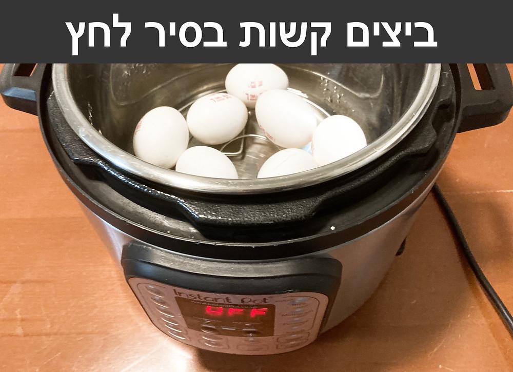 ביצים קשות בסיר לחץ אינסנט - Instant Pot