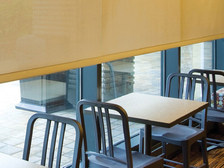 Why Solar Shades are the Preferred Window Treatment for Retail Storefronts