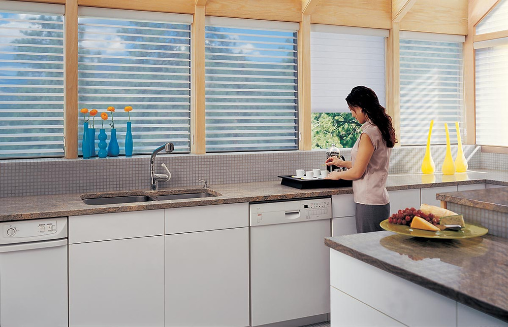 window blinds shades in kitchen home remodel renovation