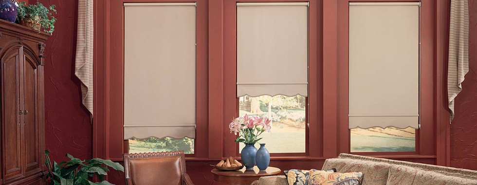 pink-blackout-roller-shades-with-curtain