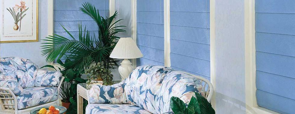 blue-plain-classic-pleated-roman-shades.