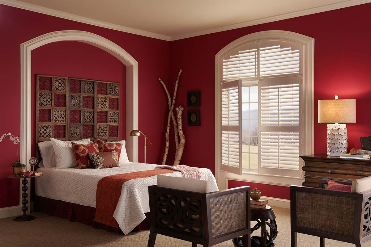 white-plantation-shutters-extended-arch.