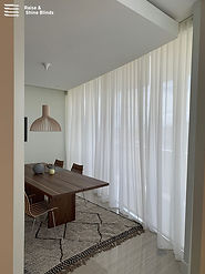 white-screen-shades-sheer-drapery-dining