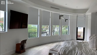 motorized-blackout-roller-shades-bedroom